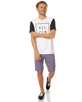 WHITE MENS CLOTHING VOLCOM TEES - A5031779WHT
