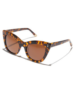 TORTOISE BRONZE WOMENS ACCESSORIES SABRE SUNGLASSES - SS7-507T-BRTORT