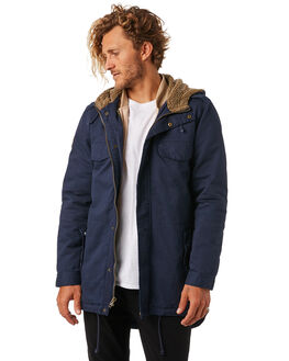 NAVY MENS CLOTHING THE CRITICAL SLIDE SOCIETY JACKETS - JK1811NAVY