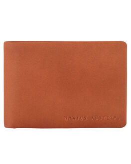 CAMEL MENS ACCESSORIES STATUS ANXIETY WALLETS - SA2025CAM