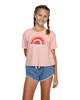 CORAL PINK KIDS GIRLS BILLABONG TOPS - BB-5591002-CIP