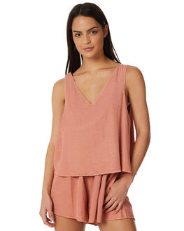 RUST WOMENS CLOTHING ALL ABOUT EVE PLAYSUITS + OVERALLS - 6423054BRNZ