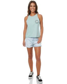 SALT BLUE WOMENS CLOTHING RUSTY SHORTS - WKL0627SAB