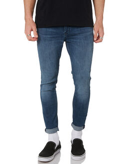 REUNION BLUES MENS CLOTHING LEE JEANS - L-606534-KY1REBLU