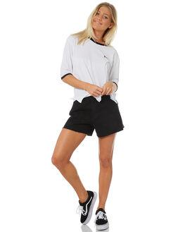 WHITE WOMENS CLOTHING RUSTY TEES - TTL0953WHT