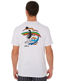 WHITE MENS CLOTHING SWELL TEES - S5182003WHITE