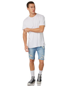 SPECTRUM TRASH MENS CLOTHING LEE SHORTS - L-606403-GT2SPECT