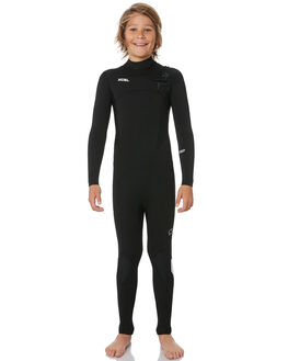 BLACK WHITE LOGO BOARDSPORTS SURF XCEL BOYS - KN43ZXC8BLW