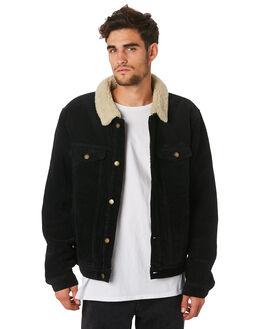 BLACK MENS CLOTHING ROLLAS JACKETS - 15421100