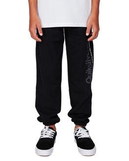 BLACK KIDS BOYS QUIKSILVER PANTS - EQBFB03084-KVJ0