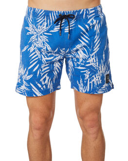 PARADISE BLUE MENS CLOTHING THE PEOPLE VS BOARDSHORTS - HS18068PARAD