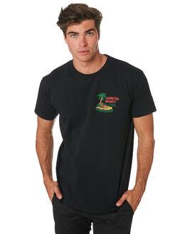 BLACK MENS CLOTHING THE LOBSTER SHANTY TEES - LBSWILTEEBLK