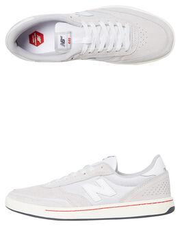GREY WHITE MENS FOOTWEAR NEW BALANCE SNEAKERS - NM440GRSGRYW
