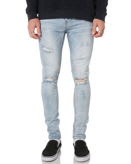 FADED BLUE MENS CLOTHING THE PEOPLE VS JEANS - SS167014FABLU