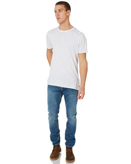 MIDNIGHT WORN MENS CLOTHING NUDIE JEANS CO JEANS - 112723MWRN