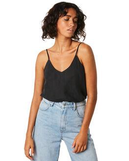BLACK WOMENS CLOTHING JORGE FASHION TOPS - 8320050BLK