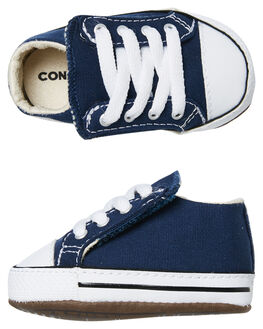 NAVY ORANGE KIDS BABY CONVERSE FOOTWEAR - 865158CNVYO