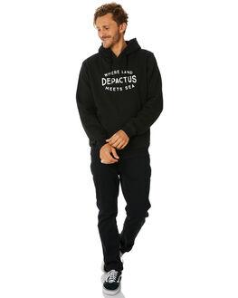 BLACK MENS CLOTHING DEPACTUS JUMPERS - D5184445BLACK