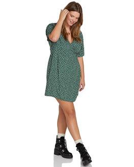 GREEN WOMENS CLOTHING VOLCOM DRESSES - B1331906PGRN