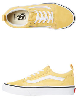 YELLOW KIDS BOYS VANS SNEAKERS - VNA3QPGU4L