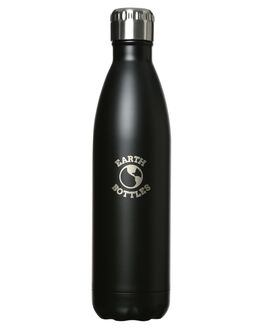 MATTE BLACK MENS ACCESSORIES EARTH BOTTLES DRINKWARE - EB750MBLK