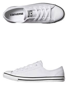 WHITE WOMENS FOOTWEAR CONVERSE SNEAKERS - 537108WHI