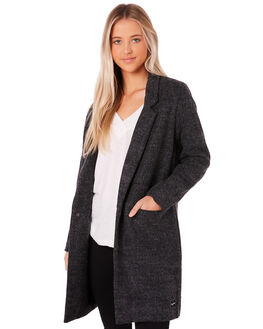 CHARCOAL WOMENS CLOTHING RPM JACKETS - 8WWT17BCHAR
