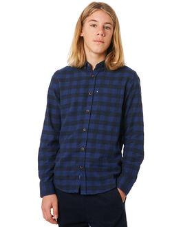 BLUE KIDS BOYS ACADEMY BRAND TOPS - B19W837BLU