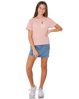 DUSTY ROSE KIDS GIRLS RIDERS BY LEE TOPS - R-80159T-391DSTRS