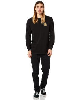 BLACK MENS CLOTHING DEPACTUS TEES - D5184105BLACK
