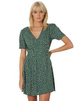 GREEN WOMENS CLOTHING VOLCOM DRESSES - B1331906GRN