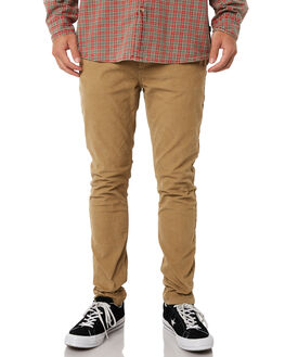 CAMEL CORD MENS CLOTHING ROLLAS PANTS - 15279B466