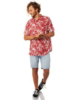 GARNET MENS CLOTHING RVCA SHIRTS - R181187GRNT