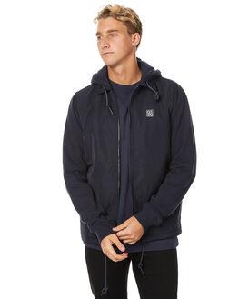 NEW NAVY MENS CLOTHING RVCA JACKETS - R171432NNVY