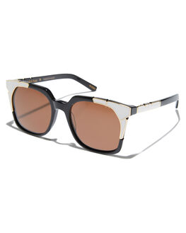 BLACK GOLD WOMENS ACCESSORIES PARED EYEWEAR SUNGLASSES - PE1703BWBLKGD