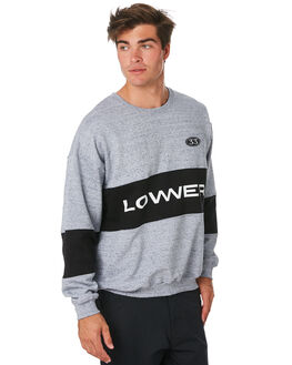 GREY BLACK MENS CLOTHING LOWER JUMPERS - LO19Q2MSW04GRYBK