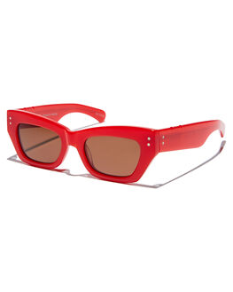RED WOMENS ACCESSORIES PARED EYEWEAR SUNGLASSES - PE1707RERED