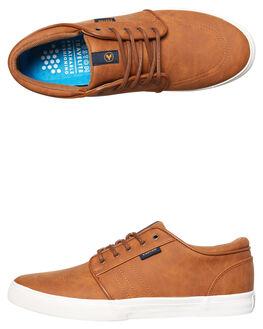 BROWN MENS FOOTWEAR KUSTOM SNEAKERS - 4937102QBRN
