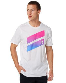 WHITE MENS CLOTHING HURLEY TEES - AJ1782100