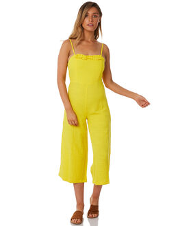 LEMON OUTLET WOMENS THE BARE ROAD PLAYSUITS + OVERALLS - 990141-01LEM