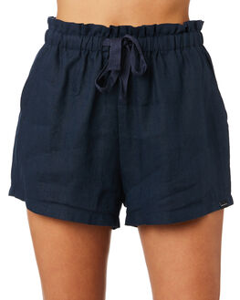 NAVY WOMENS CLOTHING RPM SHORTS - 9PWB02BNAVY