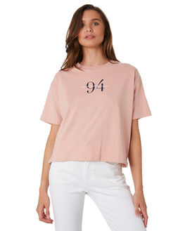BLUSH WOMENS CLOTHING RPM TEES - 9WWT02B2BLUS