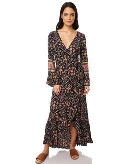 INDIGO WOMENS CLOTHING TIGERLILY DRESSES - T381407IND