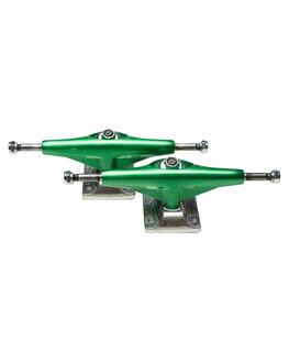 GREEN BOARDSPORTS SKATE TENSOR TRUCKS ACCESSORIES - 10415285GREEN
