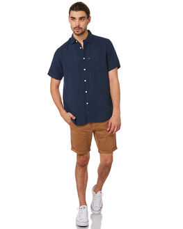 NAVY MENS CLOTHING ACADEMY BRAND SHIRTS - 19S880NVY
