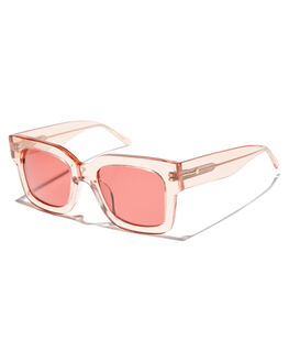 CRYSTAL ROSE WOMENS ACCESSORIES CRAP SUNGLASSES - DOWNP318DRCRYRS