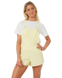 LEMON DEW OUTLET WOMENS TEE INK PLAYSUITS + OVERALLS - VAW1300LMNDW