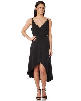 BLACK WOMENS CLOTHING JORGE DRESSES - 8320054BLK