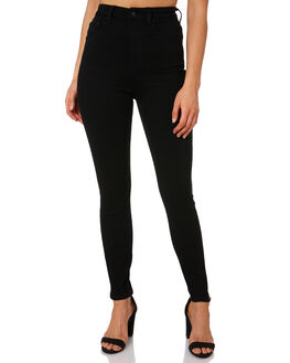 PRIMO BLACK WOMENS CLOTHING LEE JEANS - L656684LZ5