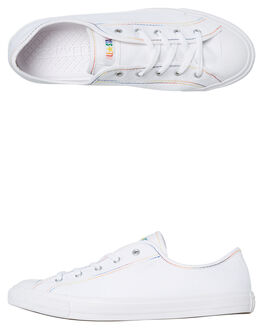 WHITE WOMENS FOOTWEAR CONVERSE SNEAKERS - 564979CWHT